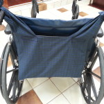 Buddee Bag for a wheelchair