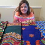 New fabric from Africa