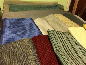 Donation of material from Valley Forge Fabrics