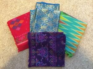 Beautiful fabric from Indonesia!